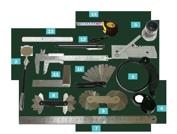 Комплект для визуального контроля ВИК-2